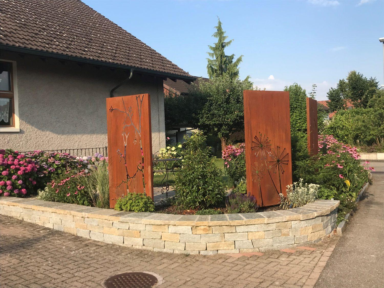Gartenumanderung Eines Efh In Muhen Burgherr Gartenbau